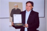Fábry János díj átvétele: Rimaszombat, 2008