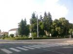 Rimaszombat - Tompa M. tér (ahol a múzeum áll)