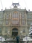 A rimaszombati gimnázium mai épülete 2011 januárjában