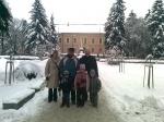 Családunk B. Kovács Istvánnal a rimaszombati múzeum elött