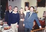 Fábry Zoltánné nagymamám négy fiával a 80-as években