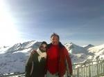 Gleccser lábánál 2650 m.